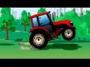 Мультики про Машинки Трактор Кран и Экскаватор строительная техника – 2D Мультф ...