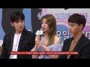 (Showbiz Korea) Ji Chang Wook, Nam Ji Hyun - Чжи Чан Ук, Нам Чжи Хён интервью [руссаб]