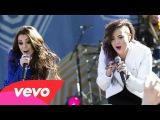 Demi Lovato ft. Cher Lloyd - Really Don't Care @ Good Morning America - 06-06-14