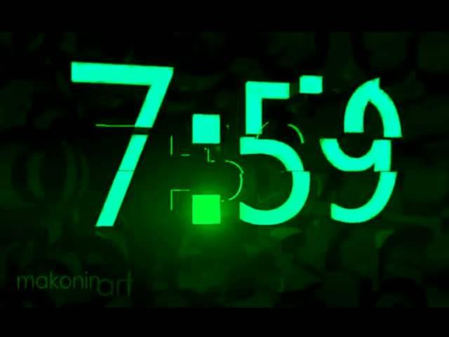 Часы НТВ реконструкция (Ночные)