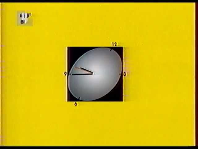 Часы ТВЦ 2003 (тикание после 45-ой секунды)