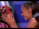 Adorable Little Girl Gets a Kiss From MEL B I am Awesome LOL!