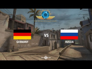 Germany vs. Russia - WC 2015 Groups