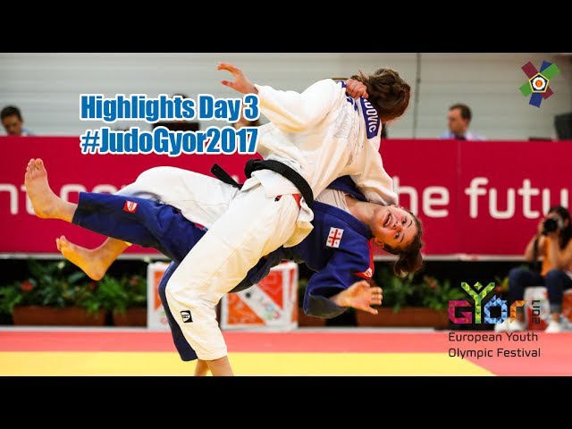 EYOF Györ 2017 Highlights Day 3