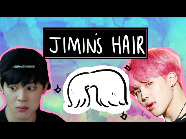 An unnecessary guide to jimin's hair