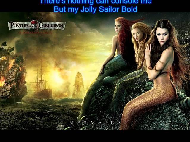 Pirates of the Caribbean - Jolly Sailor Bold Lyrics