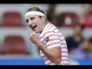 Timea Bacsinszky vs Lara Arruabarrena Beijing China Open 2016 R1 Highlights