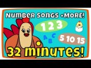 Counting from 1-10 song, Rainbow Colors more | Kids Song Compilation | The Singing Walrus