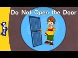 'D' words Do Not Open the Door Level 3 By Little Fox