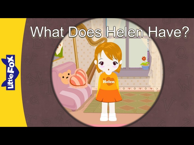 'H' words: What Does Helen Have? | Level 3 | By Little Fox