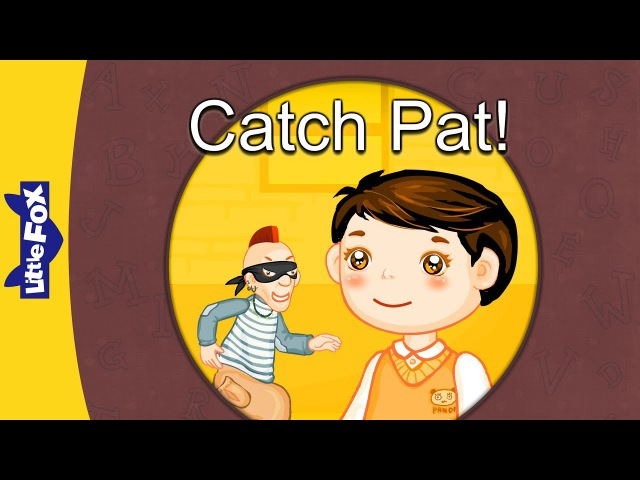 A' words Catch Pat Level 3 By Little Fox