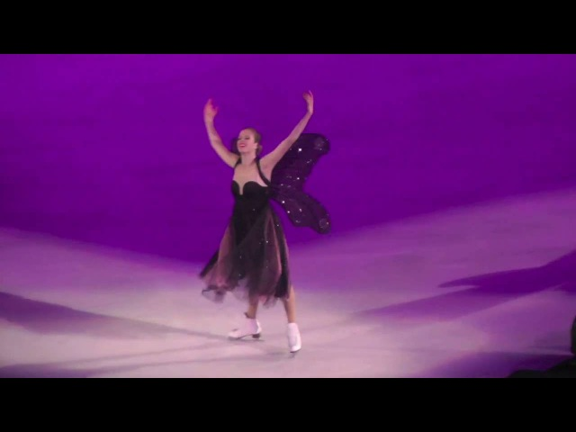 Can't Help Falling In Love - Carolina Kostner with Andrea Bocelli - Intimissimi on Ice 2016