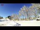 Disco style 80s Jean Michel Jarre Oxygene Extreme Magic walking winter train snow KОТО remix