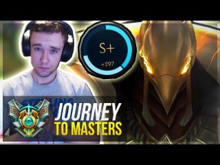 AZIR IS FINALLY BACK?! | S CARRY - Journey To Masters 12 S7 - League of Legends