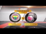 EuroLeague Highlights: Fenerbahce Istanbul-Brose Bamberg