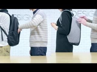 Рюкзак Kalidi Bobby XD Design Городской рюкзак для ноутбука с USB-зарядкой и защитой от карманников