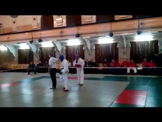 Багян Нарек (в красном),соревнования по АРБ 12.01.2017