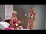 Зрелая мама трахает юную дочку, mom daughter sex incest lesbian lick pussy orgasm woman mature (Инцест со зрелыми мамочками 18+)