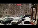 Видео нападения на инкассаторов в Москве