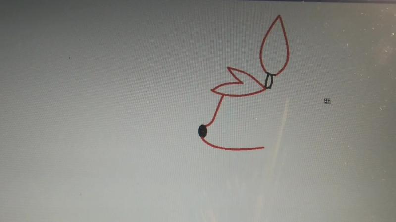 как я рисую фокси