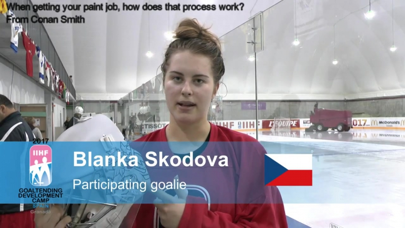 2017 IIHF Womens Goaltending Development Camp - Goalies answer your questions