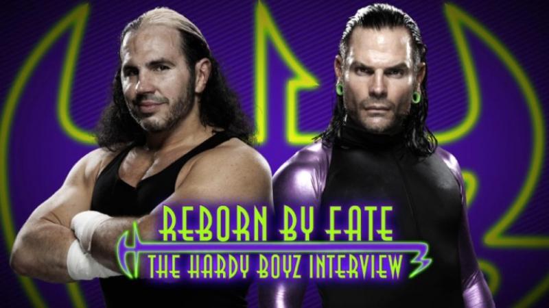 WWE QTV Network Exclusive Corey Graves Interview The Hardy Boyz ☆ Эксклюзивное интервью Кори Грейвса с Харди Бойз 720