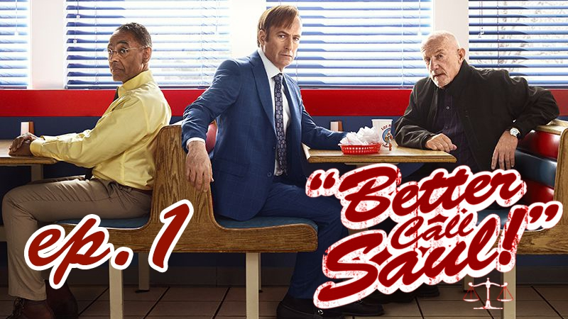 Лучше звоните Солу📞3 Сезон/Серия 1 / Better Call Saul s3. ep.1