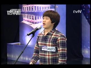 [Koreas Got Talent] tvN 코리아 갓 탤런트 Ep.1 Sung-bong Choi.avi