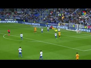 Испания ЛаЛига Малага - Севилья 4:2 обзор  HD
