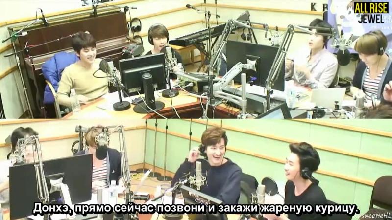 [140407] Super Junior Kiss the Radio - Sukira / Сукира - SuJu - M (рус.саб)