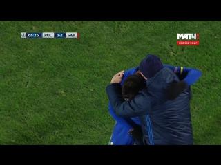 Футбол. Лига чемпионов. 5-й тур. Ростов - Бавария 3:2 67' Кристиан Нобоа