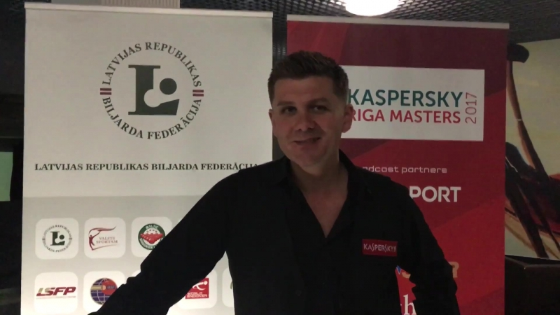Post match interview with Ryan day after his 5-2 victory over Stephen Maguire in the final