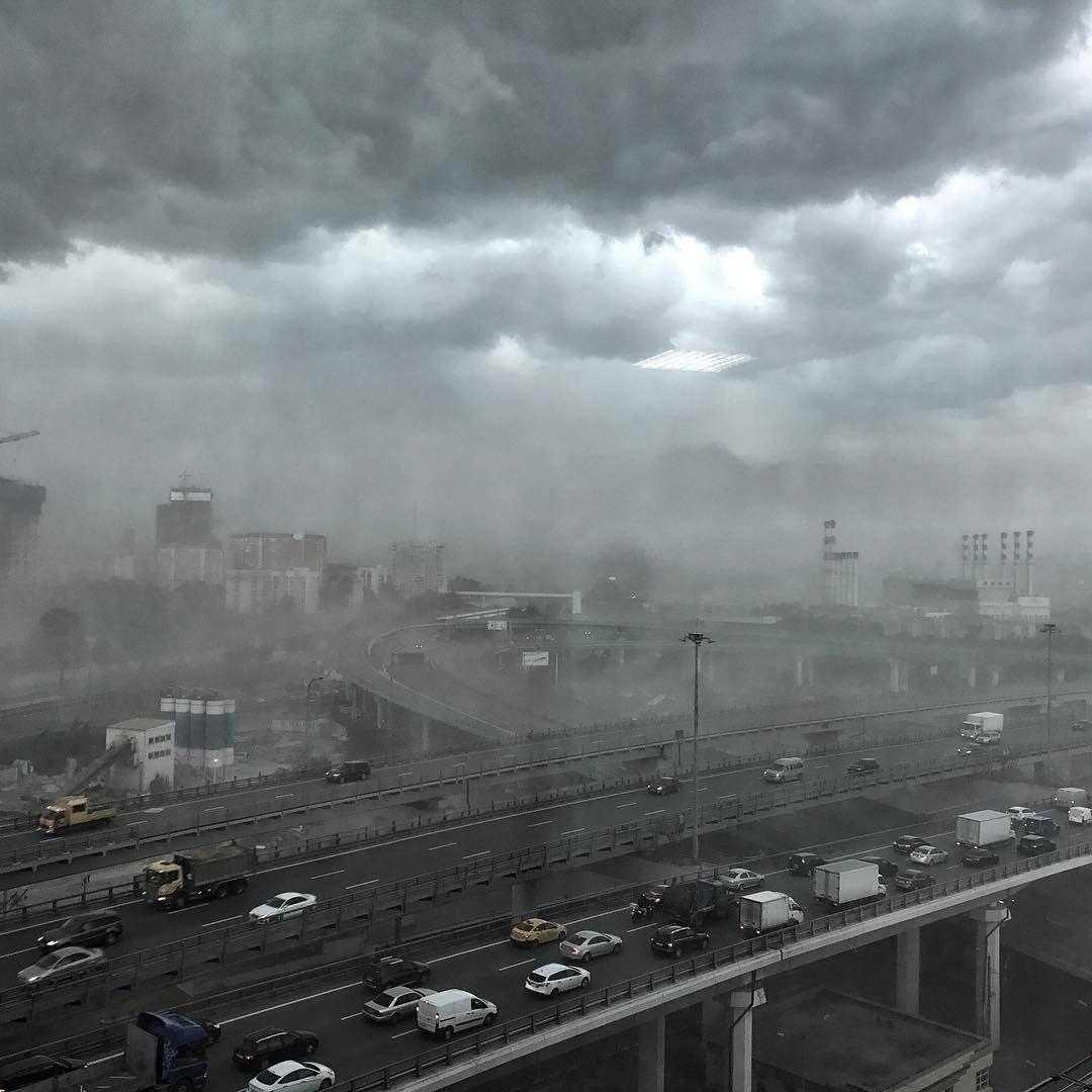 Москва ураган