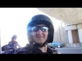 Звук моего байка под мостом))Kawasaki VN800 Classic