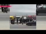 Молчание властей и федеральных СМИ. Как идет третья неделя протестов дальнобойщиков