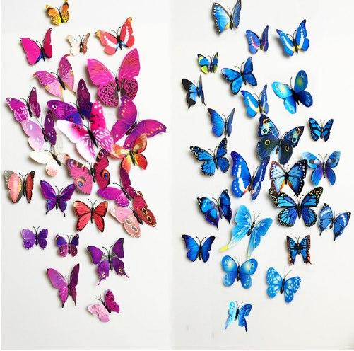 Настенные бабочки