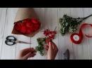 Букет из конфет своими руками мастер класс Master Class floral bouquet with candy