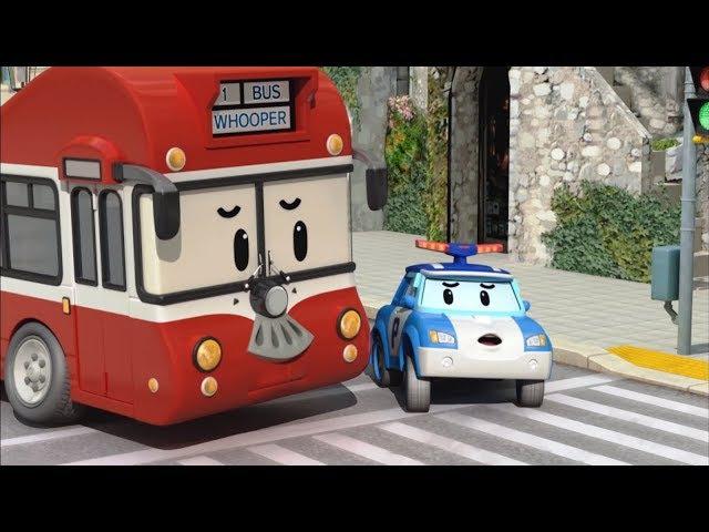Робокар Поли - Правила дорожного движения - Как переходить дорогу - Мультики про ...