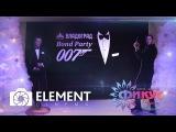 Новогодний корпоратив 2017 Владоград Bond Party 007