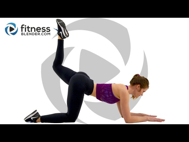 10 Minute Butt and Thigh Workout - No Equipment Lower Body Workout