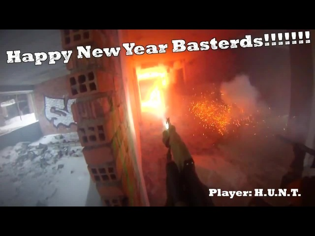 Russian Hardcore Christmas New Year Airsoft RPG H.U.N.T.