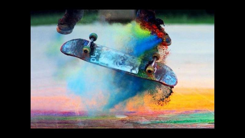 Крутые Трюки На Скейтбордах | Девочки На Скейте (Лонгборде)