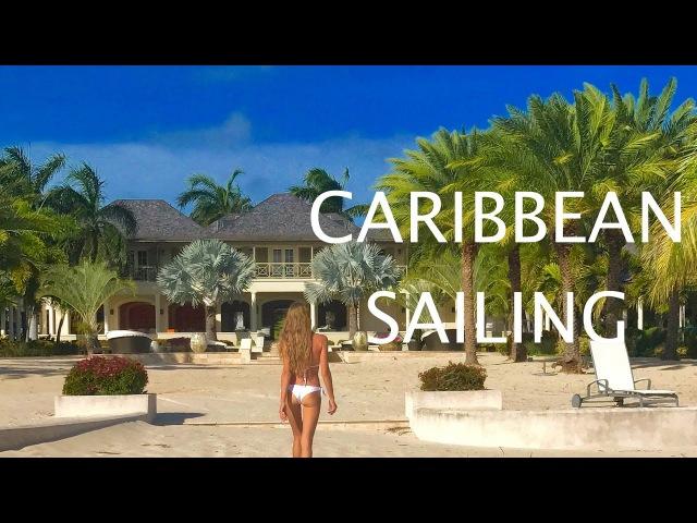 Путешествие. Карибские острова. Антигуа и Барбуда. Гваделупа. Акулы.