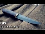DIY puukko knife