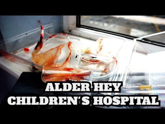 ABANDONED ALDER HEY CHILDREN'S HOSPITAL EMOTIONAL EXPLORE