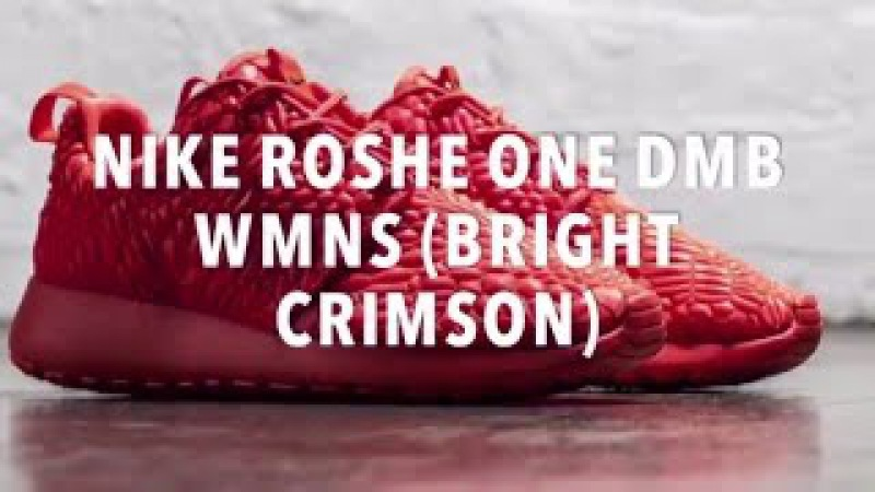 NIKE ROSHE ONE DMB WMNS (BRIGHT CRIMSON) SNEAKERS NEWS