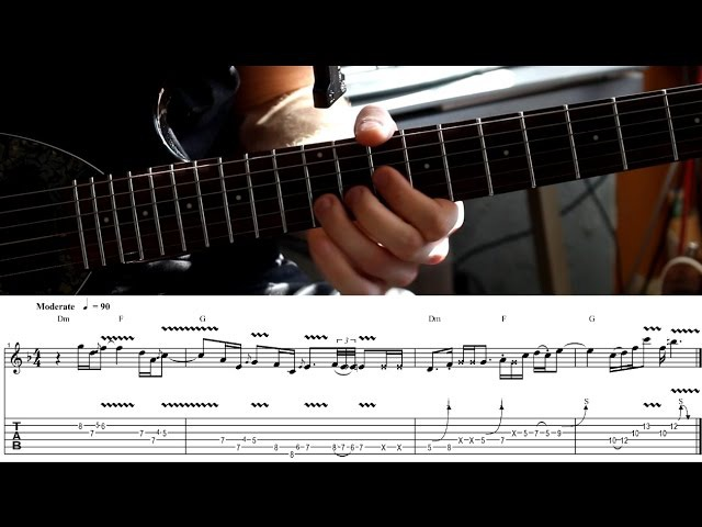 Sergei Klokov - The usage of rhytmical sequences (D minor)