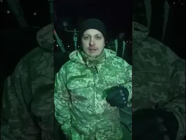 Мер міста Конотоп свободівець Артем Семеніхін приїхав на блокаду.