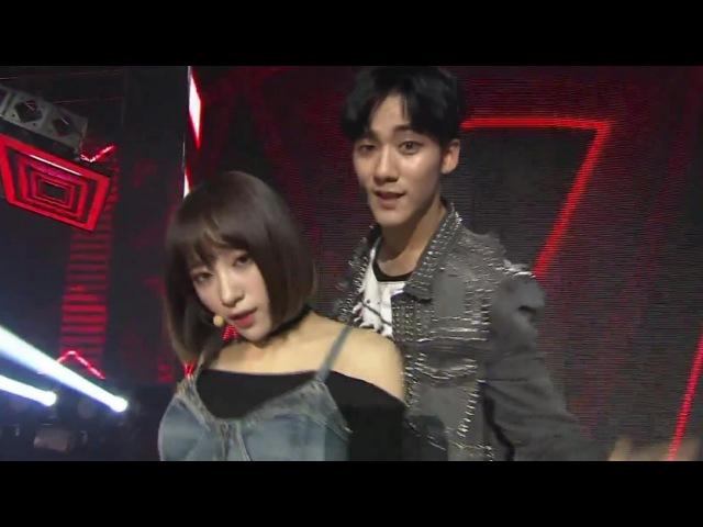 하니(EXID) 지훈(크나큰) 트러블메이커 EXID Hani KNK JiHun - Trouble Maker Live