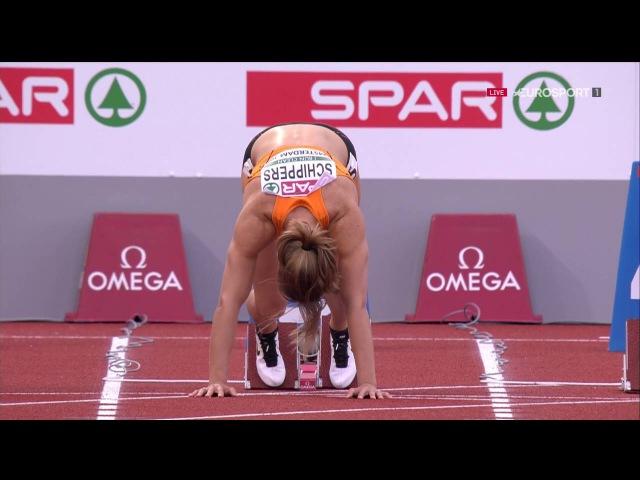 Чемпионат Европы по лёгкой атлетике Амстердам 2016 Полуфинал в беге на 100м у женщин